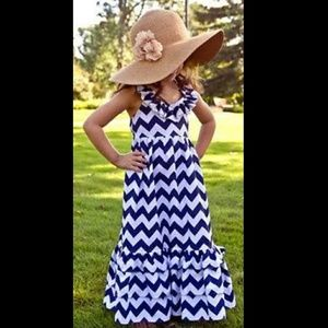 Other - COMING SOON! (5-8) Chevron Maxi Dress